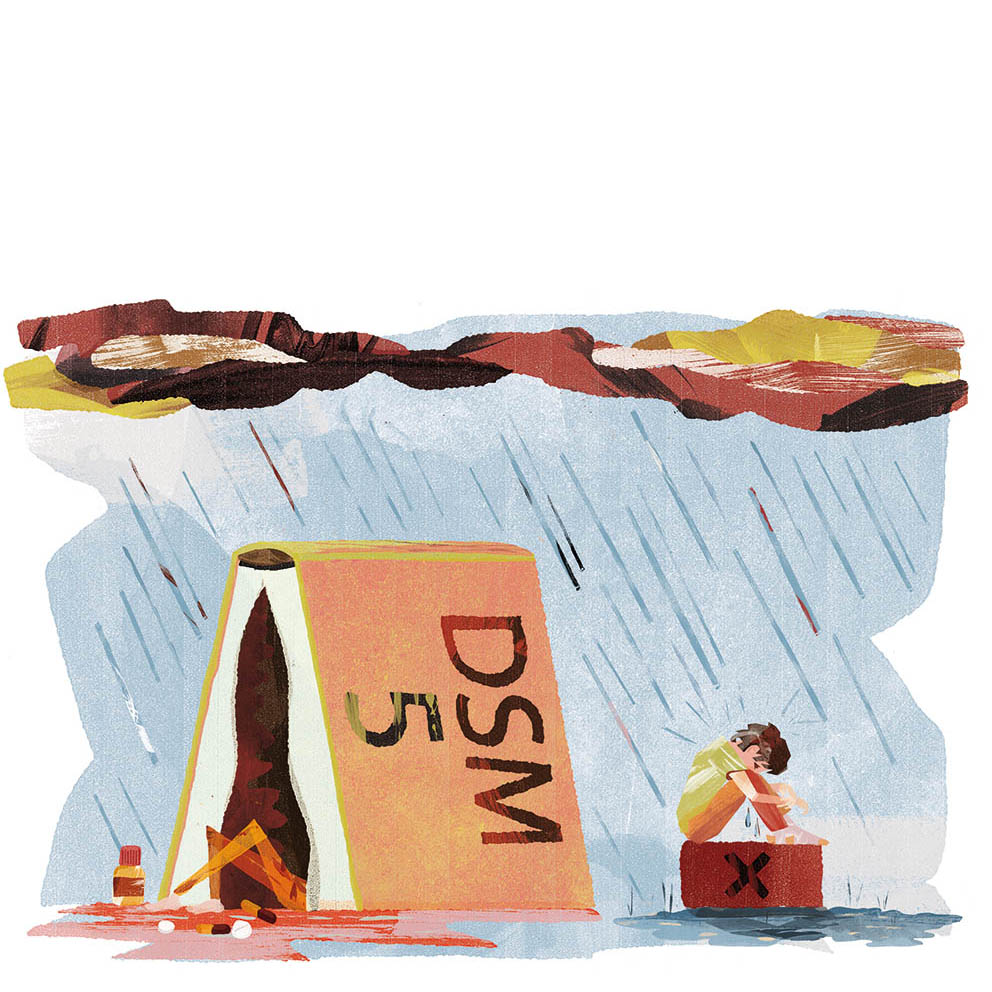 Het verdriet van de DSM